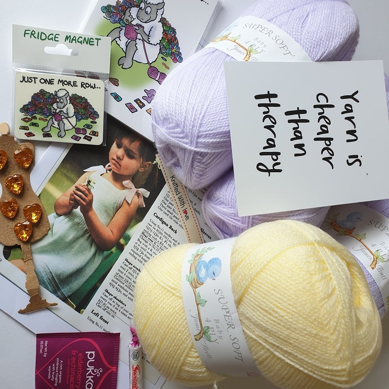 August Girls Knitting Subscription Box Hook It Yourself