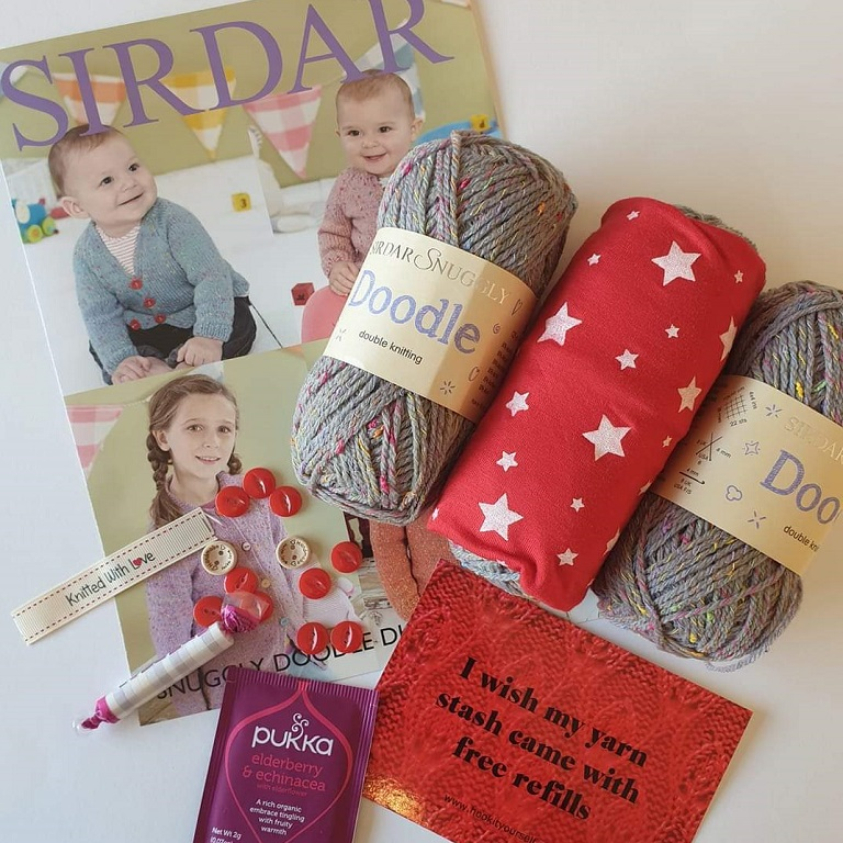 September 2019 Knitting Subscription Box