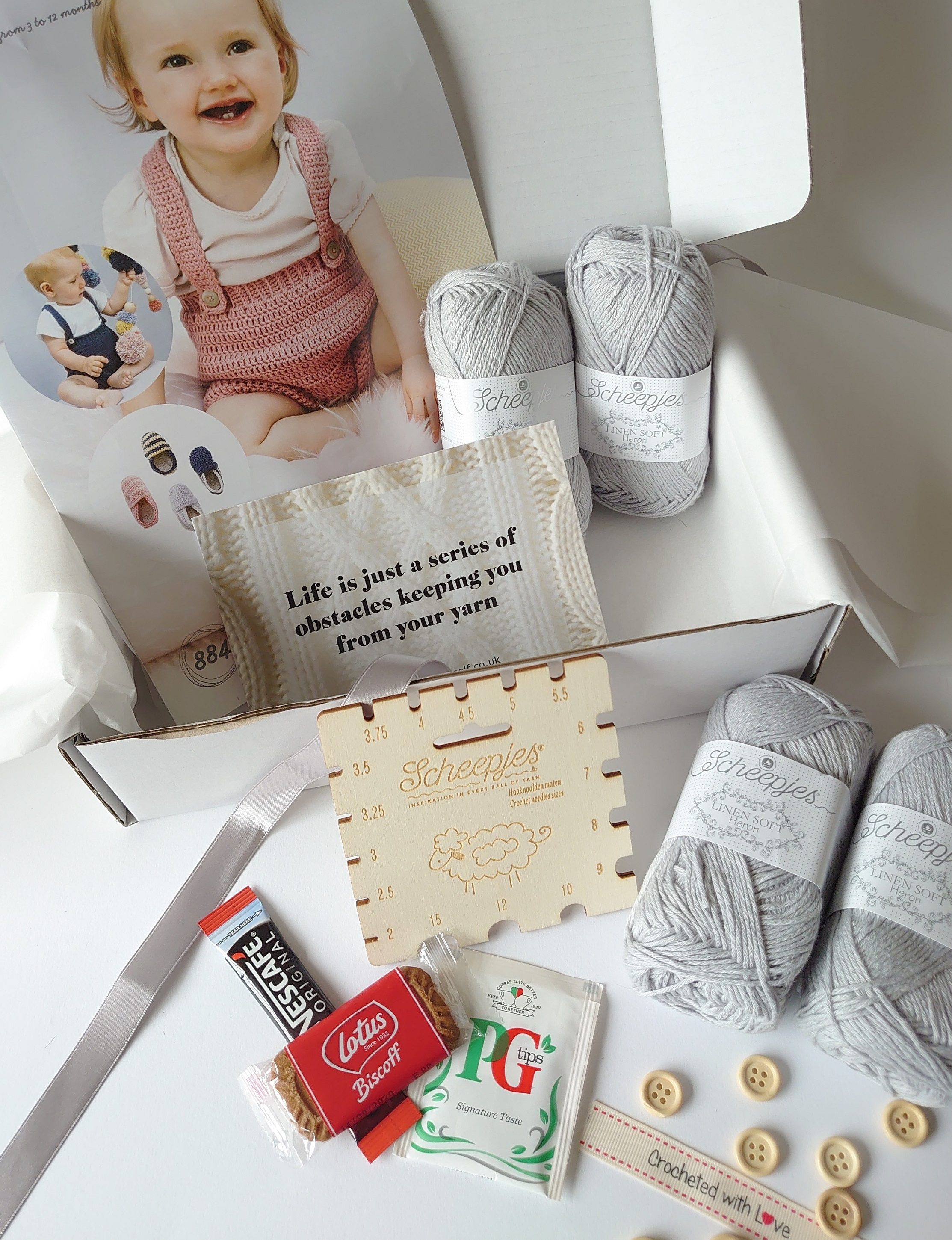 July 2020 Baby Crochet Box