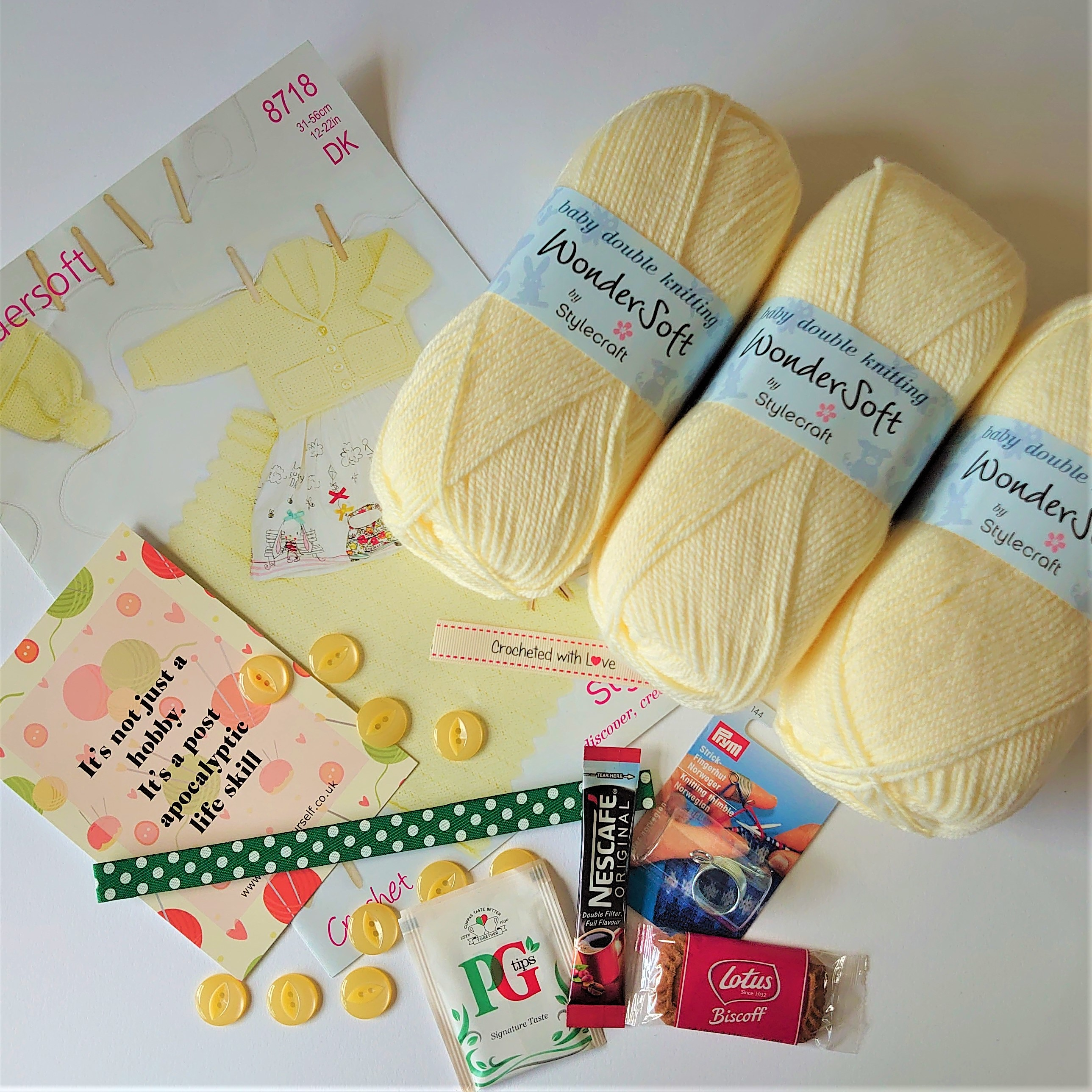 August 2020 Baby Crochet Subscription Box