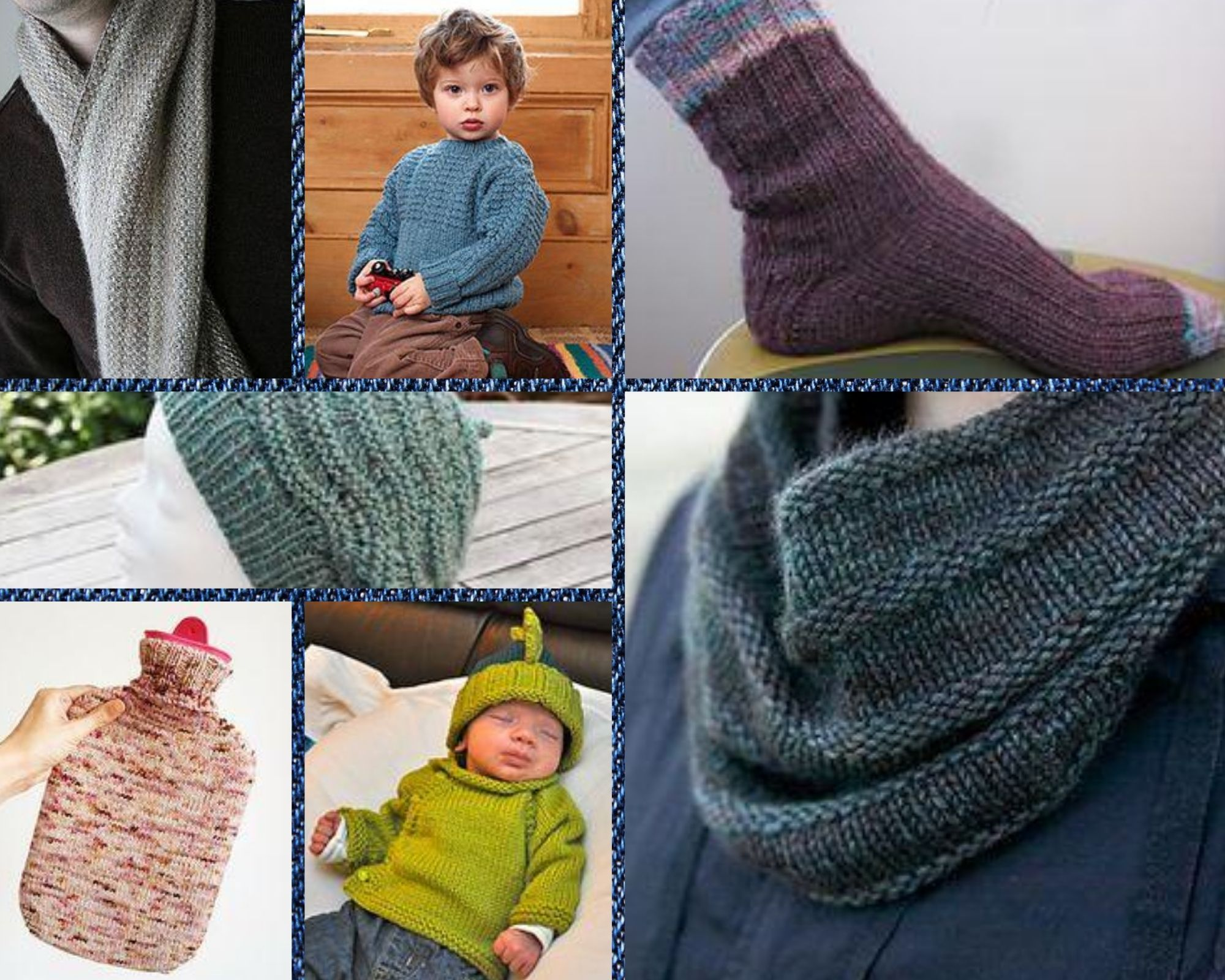 Knitting patterns suitable for the HIY August Mini Yarn Subscription Box