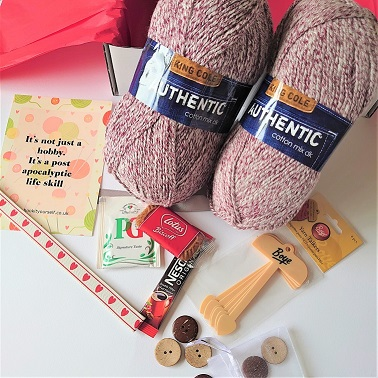 August 2020 Mini Yarn Subscription Box