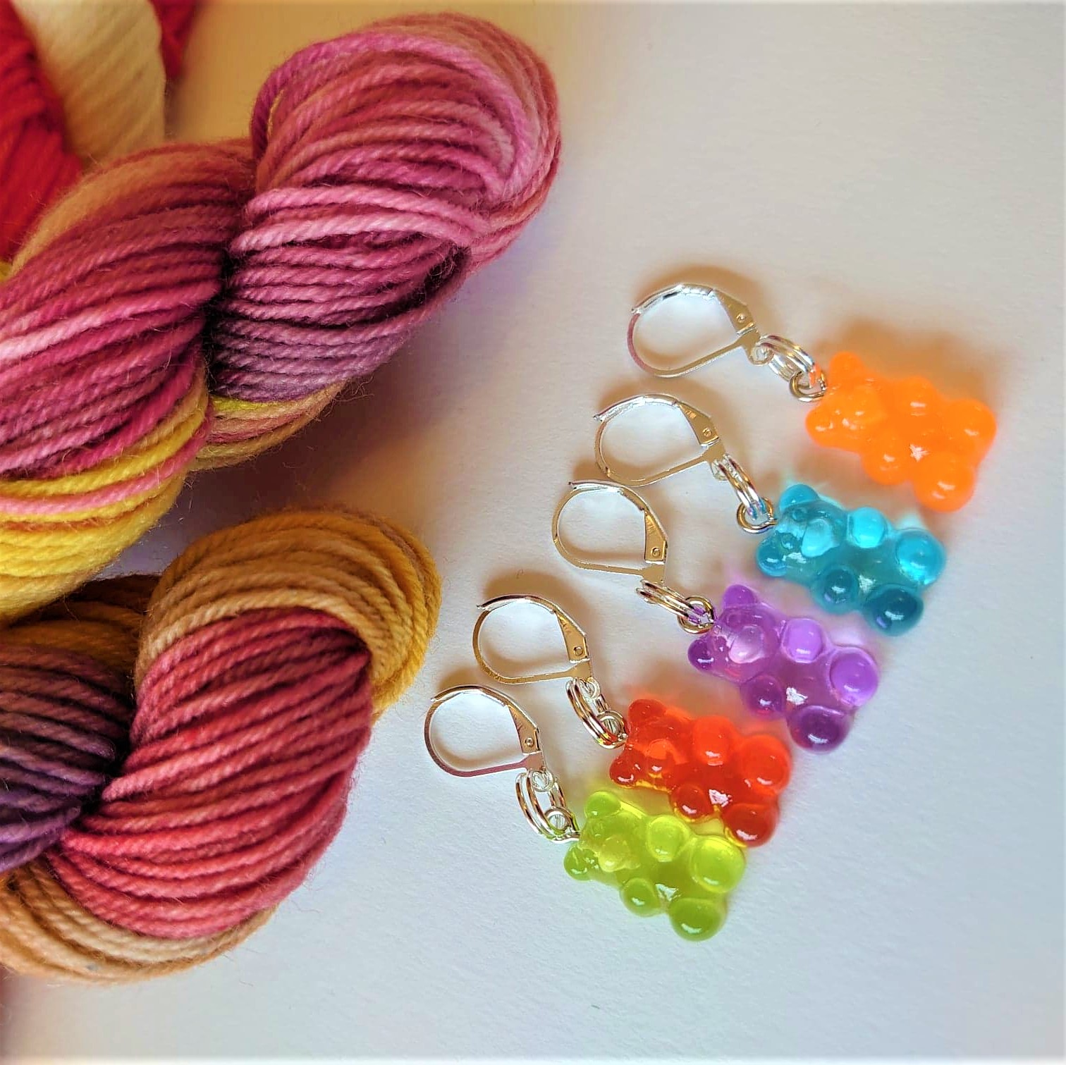 Gummy Bear Stitch Markers